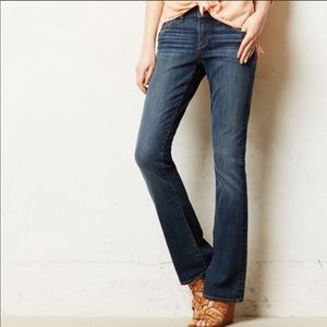 ANTHRO Pilcro and the Letterpress slim boot jeans